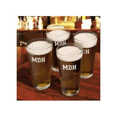 Personalized Gift Collegiate Icon Pub Beer Glass