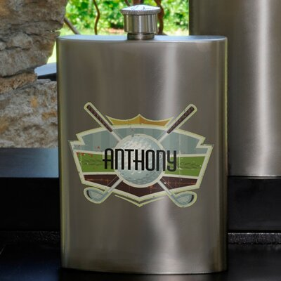 Personalized Gift Guys Party Flask
