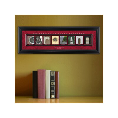 Personalized Gift College Campus Framed Memorabilia NCAA Team: South Carolina