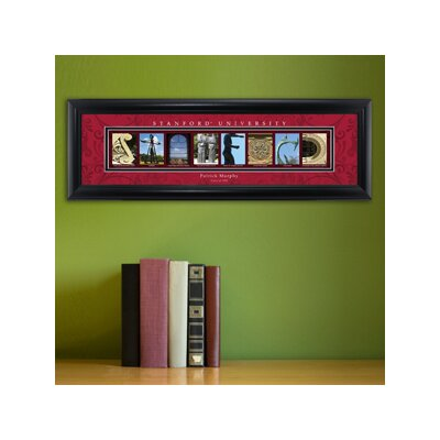 Personalized Gift College Campus Framed Memorabilia NCAA Team: Stanford