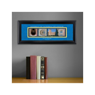 Personalized Gift College Campus Framed Memorabilia NCAA Team: UCLA
