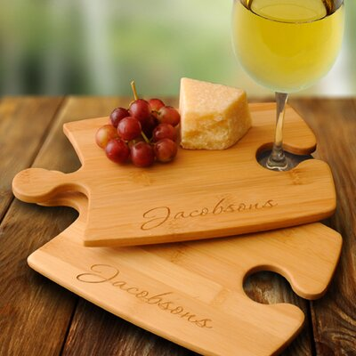 Personalized Gift Bamboo Puzzle Cutting Board