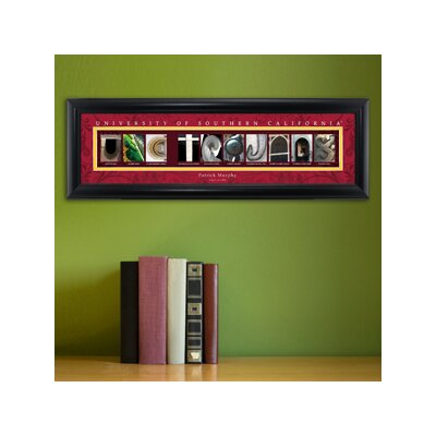 Personalized Gift College Campus Framed Memorabilia NCAA Team: University of Southern California