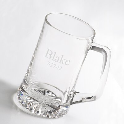 Personalized Gift Sports Beer Glass