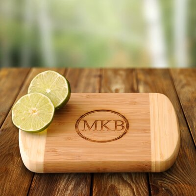 Personalized Gift Bamboo Bar Board