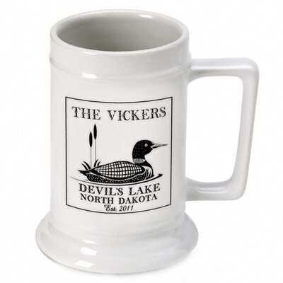 Personalized Gift Cabin Series Stein Mug GC480LOON