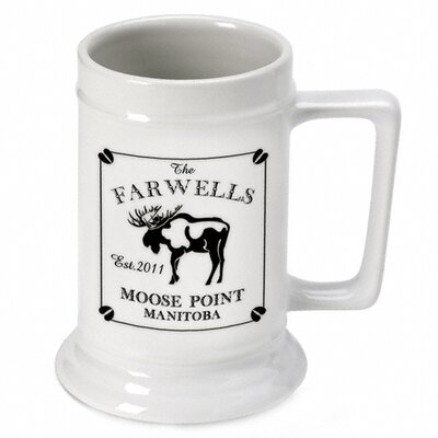 Personalized Moose Stein Cabin Series GC480Moose
