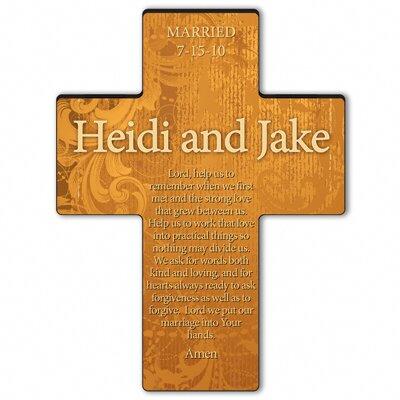 Personalized Gift Gardens of Grace Cross Prayer: Marriage Prayer