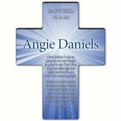 Personalized Gift Starburst Cross Prayer: Morning Prayer