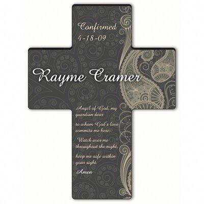 Personalized Gift Paisley Praise Cross Prayer: Guardian Angel Prayer