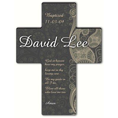 Personalized Gift Paisley Praise Cross Prayer: Hear My Prayer