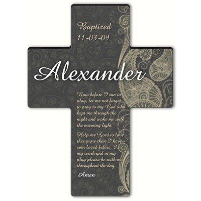 Personalized Gift Paisley Praise Cross Prayer: Morning Prayer