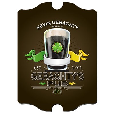 Personalized Gift Ultimate Pub Graphic Art