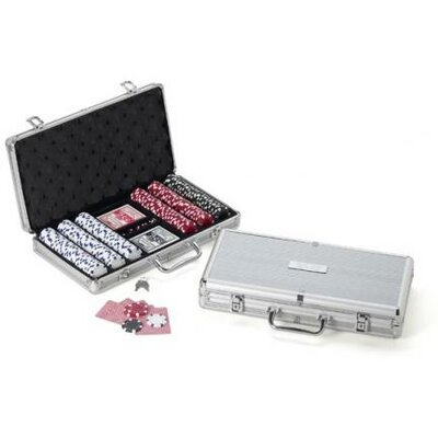 Personalized Gift 300 Piece Poker Chip Set in Case GC255