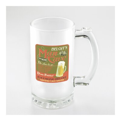 Personalized Gift 16 Oz. Beer Glass