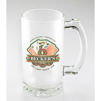 Personalized Gift 16 oz. Sport Mug GC773POKER