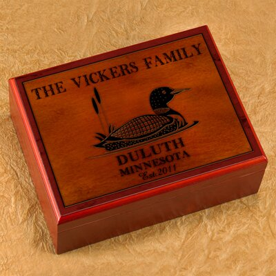 Personalized Gift Cabin Series Humidor
