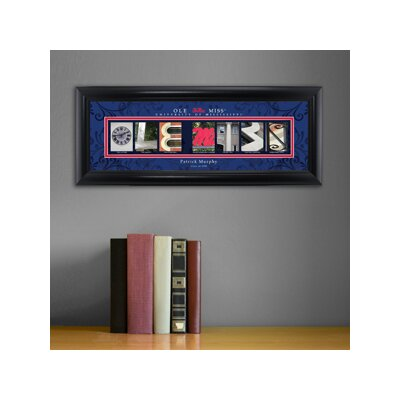 Personalized Gift College Campus Framed Memorabilia NCAA Team: Mississippi State