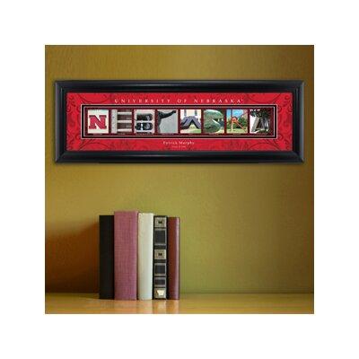 Personalized Gift College Campus Framed Memorabilia NCAA Team: Nebraska