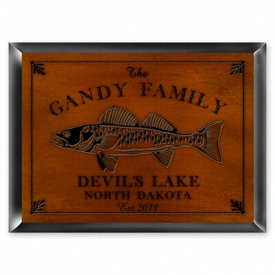 Personalized Gift Cabin Series Traditional Framed Graphic art