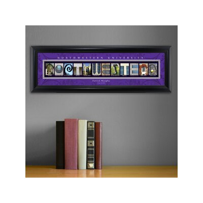 Personalized Gift College Campus Framed Memorabilia NCAA Team: Northwestern