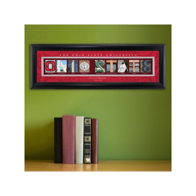 Personalized Gift College Campus Framed Memorabilia NCAA Team: Ohio State
