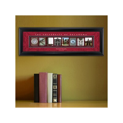 Personalized Gift College Campus Framed Memorabilia NCAA Team: Oklahoma