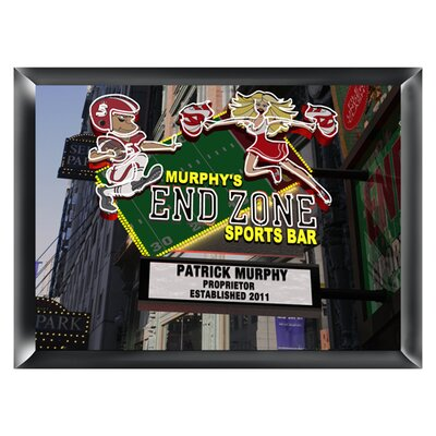 Personalized Gift Marquee Traditional Framed Photographic Print