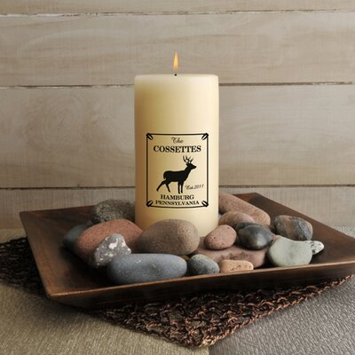 Personalized Gift Cabin Series Flameless Candle