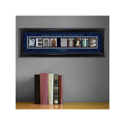 Personalized Gift College Campus Framed Memorabilia NCAA Team: Penn State