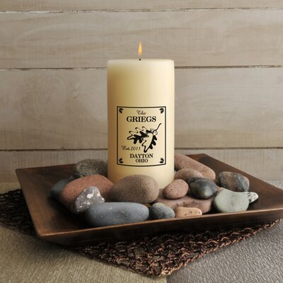 Personalized Gift Cabin Series Candle
