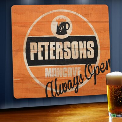 Personalized Gift Wood Tavern and Bar Sign Graphic art