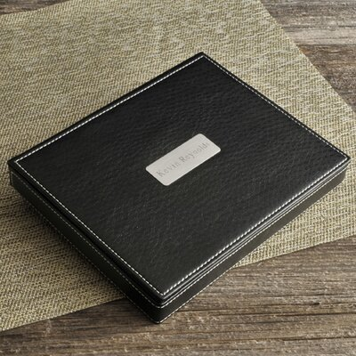 Personalized Gift Deluxe Leather Vallet