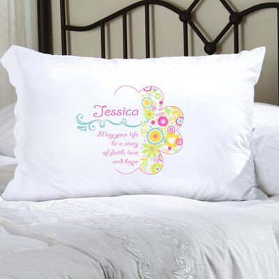 Personalized Gift Pillowcase Color: Cheerful