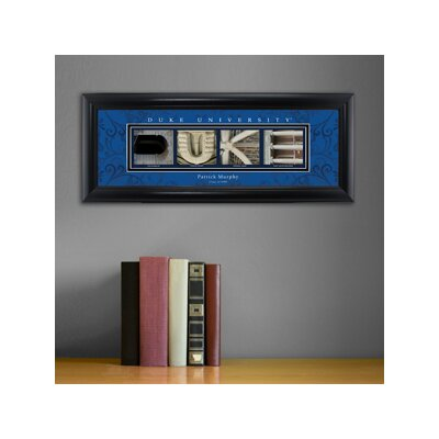 Personalized Gift College Campus Framed Memorabilia NCAA Team: Duke