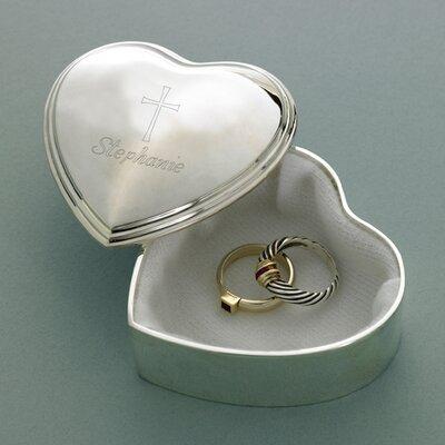 Personalized Gift Inspirational Heart Accessory Box