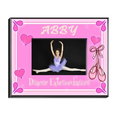 Personalized Gift Dancer's Picture Frame