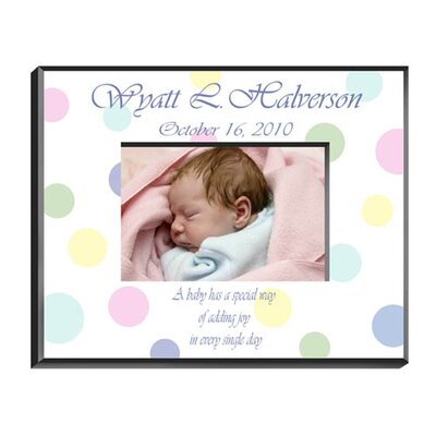 Personalized Gift Polka Dot Picture Frame GC428POLKADOT