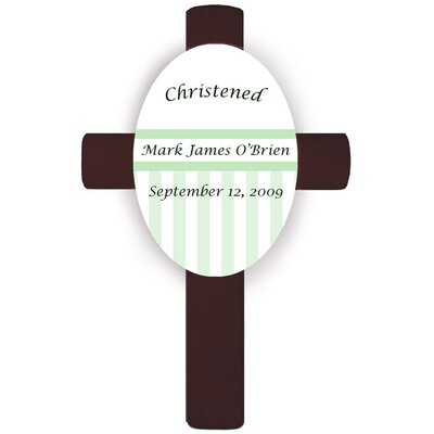 Personalized Gift Children's Cross Wall Plaque