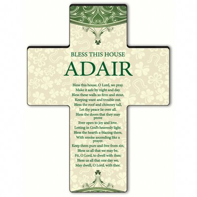 Personalized Gift Classic Irish Cross Blessing: Bless This House