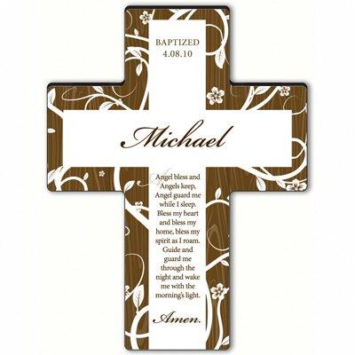 Personalized Gift Tree of Life Cross Prayer: Angel Bedtime Prayer