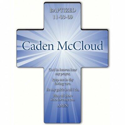 Personalized Gift Starburst Cross Prayer: Hear My Prayer