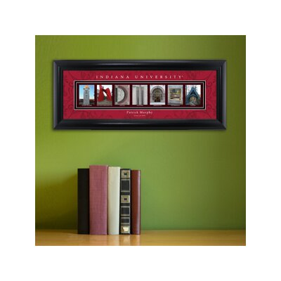 Personalized Gift College Campus Framed Memorabilia NCAA Team: Indiana