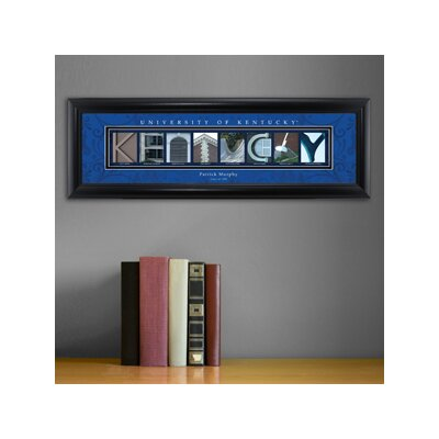 Personalized Gift College Campus Framed Memorabilia NCAA Team: Kentucky