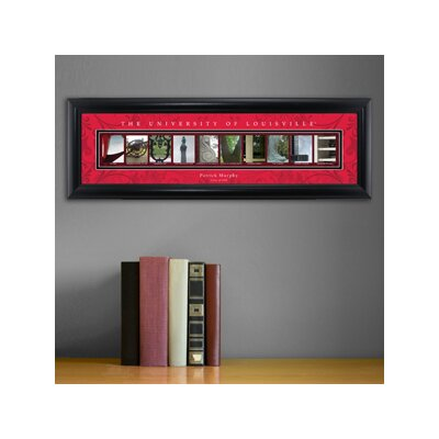 Personalized Gift College Campus Framed Memorabilia NCAA Team: Louisville