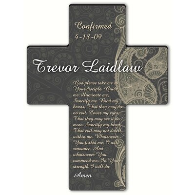 Personalized Gift Paisley Praise Cross Prayer: Confirmation