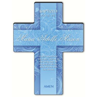 Personalized Gift Twinkling Star Cross Prayer: Hear My Prayer