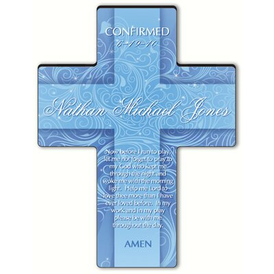 Personalized Gift Twinkling Star Cross Prayer: Morning Prayer