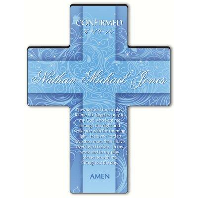 Personalized Gift Twinkling Star Cross Prayer: Morning Prayer