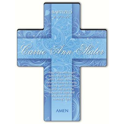 Personalized Gift Twinkling Star Cross Prayer: Angel Bedtime Prayer